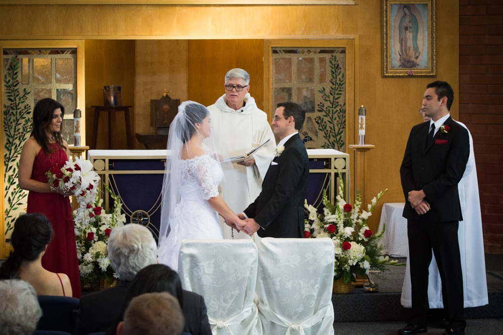 Catholic Wedding Ceremony photography in Riverside CA