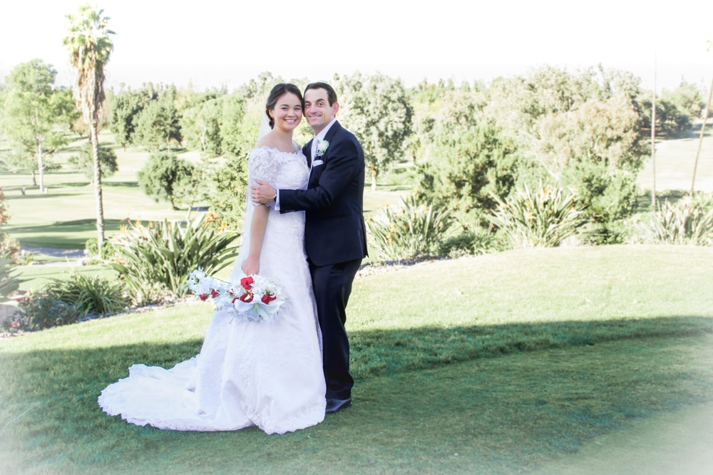 Wedding Couple at Canyon Crest County Club in Riverside